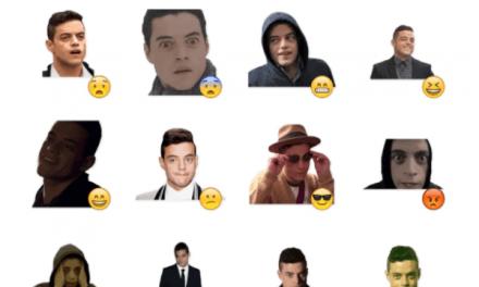 Rami Malek Sticker Pack