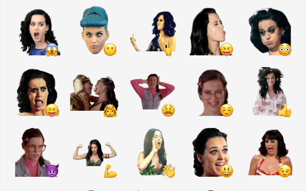 Katy Perry sticker pack