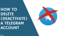 How to Delete ( Deactivate ) a Telegram Account
