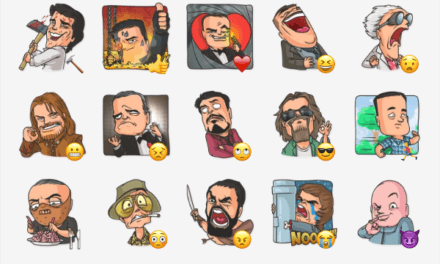 Cinema Male Heroes Sticker Pack