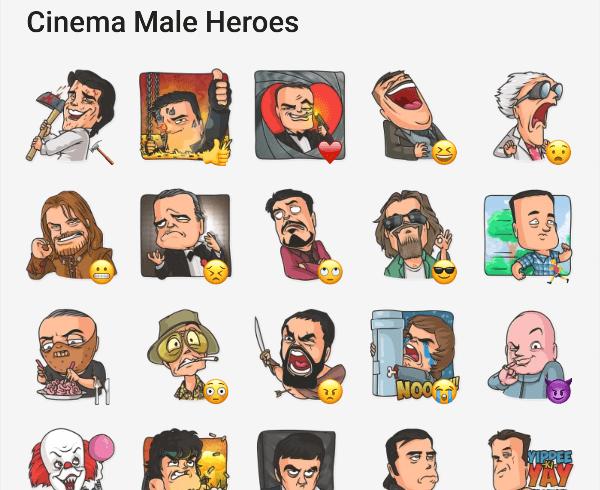 cinema-male-heroes-telegram-stickers-1