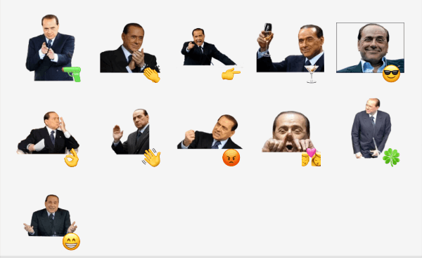 Berlusconi Sticker Pack