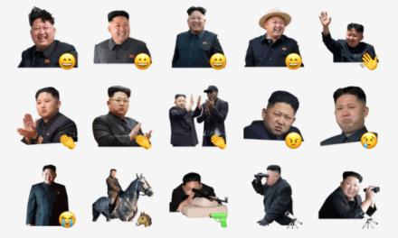 Kim Jong-un Sticker Pack