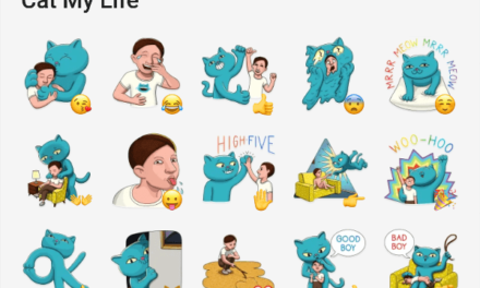 Cat my Life Sticker Pack