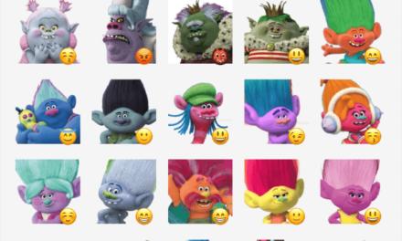 Trolls Sticker Pack