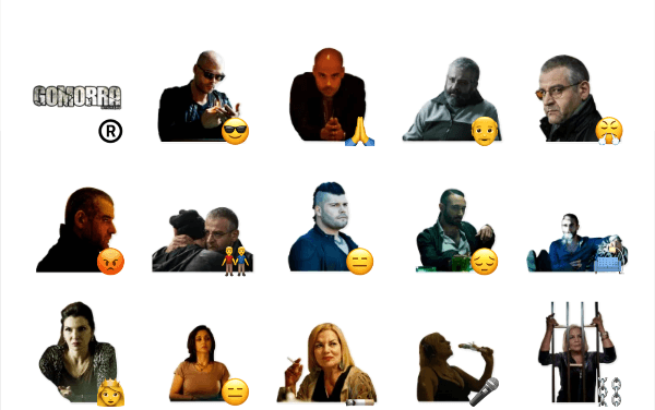 Gomorra Sticker Pack