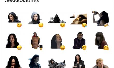 Jessica Jones Sticker Pack