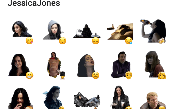 Jessica Jones Sticker Pack