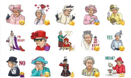 Queen Elizabeth II Sticker Pack