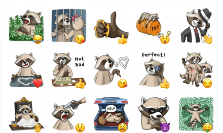Criminal Raccoon Sticker Pack