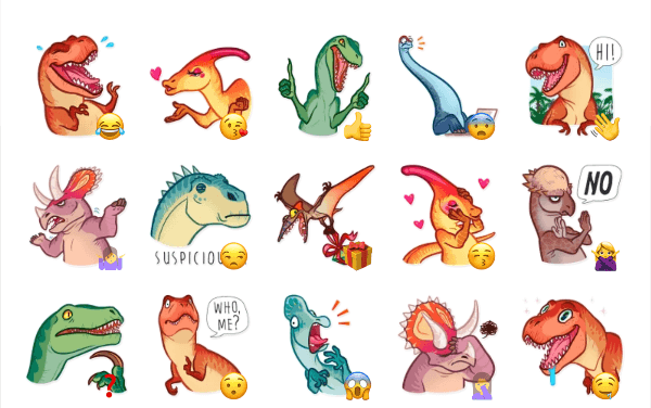 Dinosaurs Sticker Pack