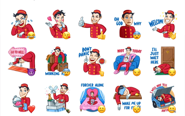 Bellboy Sticker Pack