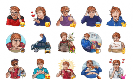 Ed Sheeran sticker pack