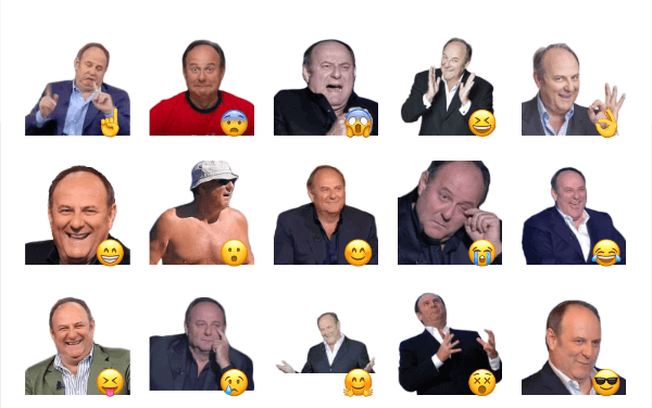 Gerry Scotti Sticker Pack