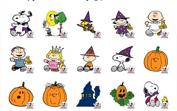 Snoopy Halloween Sticker Pack