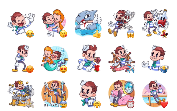 Mr. Sailor Sticker Pack