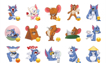 Tom and Jerry Sticker Pack