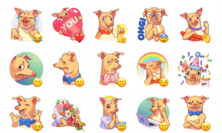 Tuna the Dog Sticker Pack