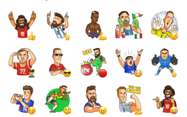 World Cup 2018 Sticker Pack
