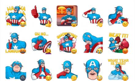 Classic Captain America Sticker Pack