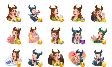 Maleficent Sticker Pack