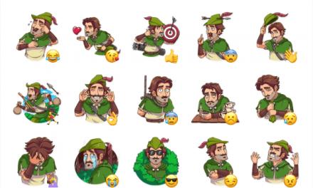 Robin Hood Sticker Pack