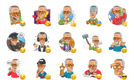 Stan Lee Sticker Pack