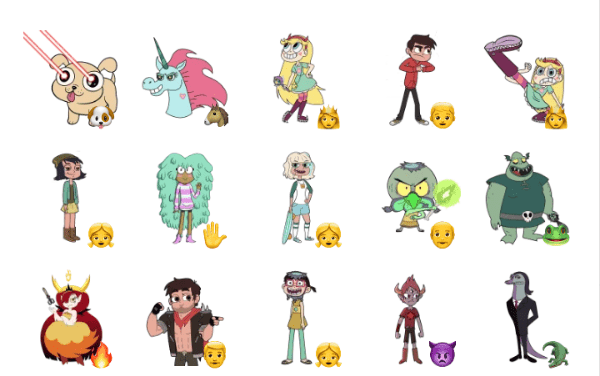 Star Vs. The Forces of Evil Sticker Pack