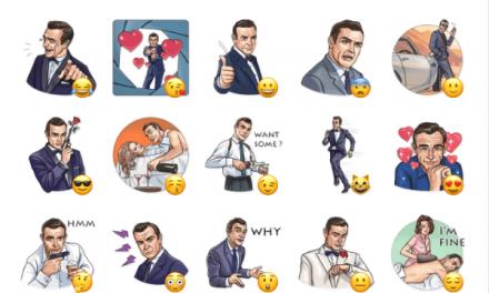 Agent 007 Sticker Pack