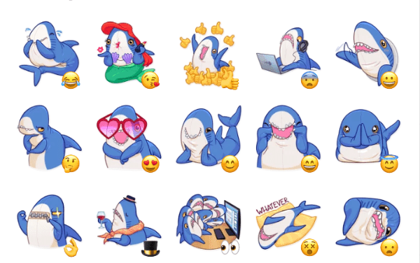 The Whale Sticker Pack
