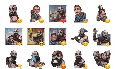 God of War Sticker Pack