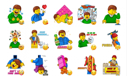 AveryThing is Awesome LEGO Movie Sticker Pack