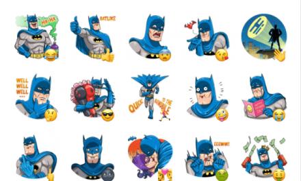 Batman Comics Sticker Pack