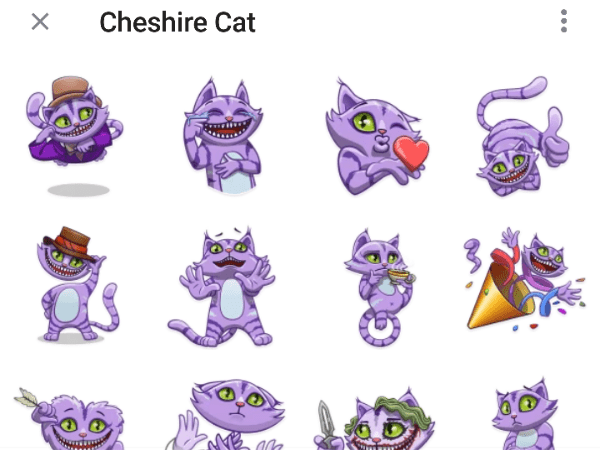 Cheshire Cat telegram Sticker