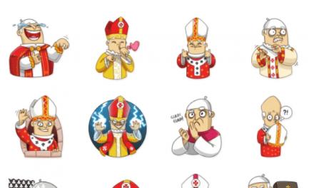Heartful Pope Sticker Pack
