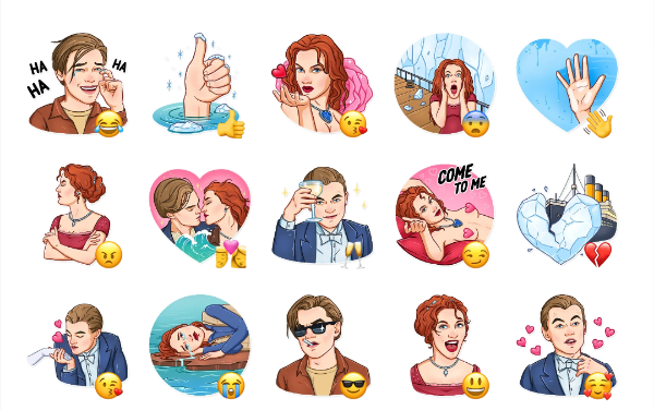 Titanic Sticker Pack