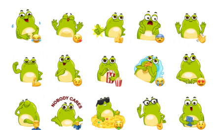 Frogita Sticker Pack
