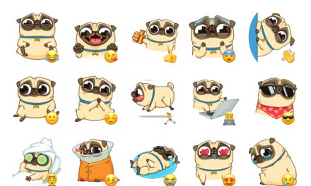 Penny Pug Sticker Pack
