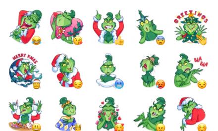 Grinch Sticker Pack
