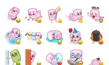 Marshmallow Sticker Pack