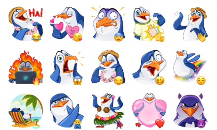 Penguin Kevin Sticker Pack