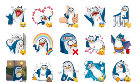 Mr. Penguin Sticker Pack