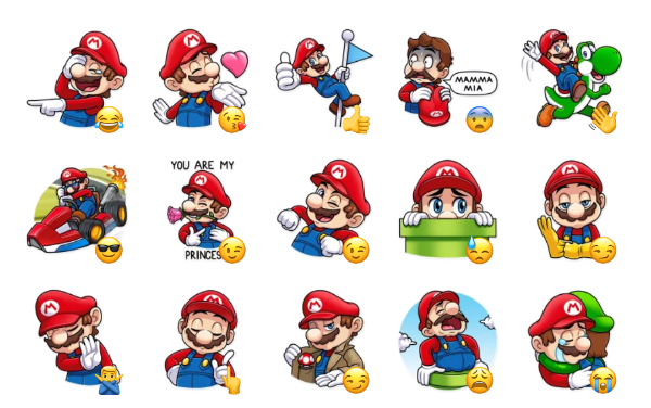 It's-a Me, Mario! Sticker Pack