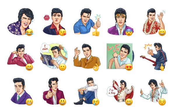 Elvis Presley Sticker Pack