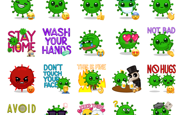 Coronavirus Sticker Pack