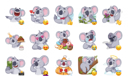 Koala Chuck Sticker Pack