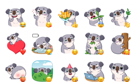 Koala Sticker Pack