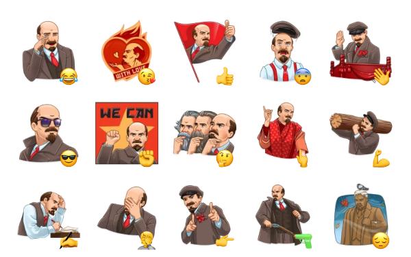 Lenin Sticker Pack