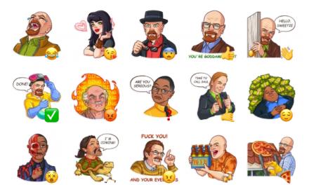 Breaking Bad Sticker Pack