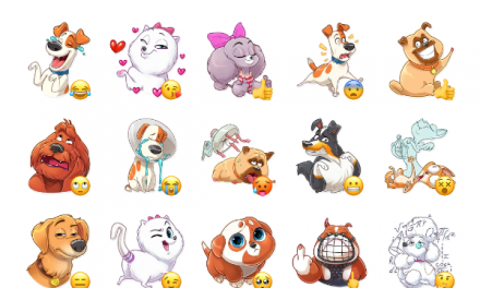 The Secret Life of Pets Sticker Pack